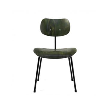 SE 68 Stol grøn/sort