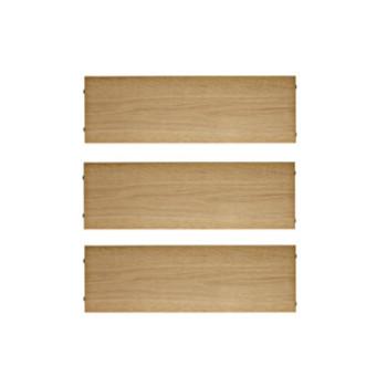 Hylder 58/30cm – 3 stk. – flere farver og træsorter