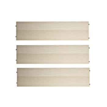 Hylder 78/30cm – 3 stk. – flere farver og træsorter