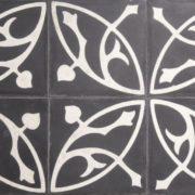 Casablance Casa 10-1 Art Nouveau  Mønstret Cementflise