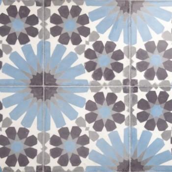 Mønstret Flise: Fez 1-9-19-40