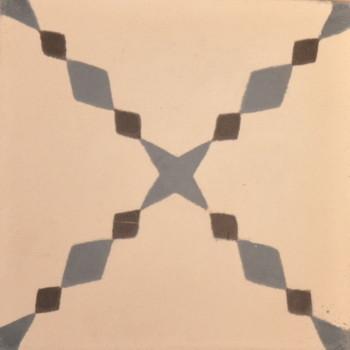Mønstret Flise: Tetouan Tet 1-10-42