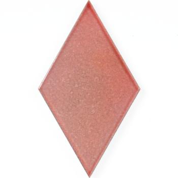 Lavastone: Rombo: Coral Red Shiny Crystal