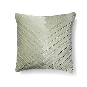 Leaflet Velour Pude: Mint Grøn
