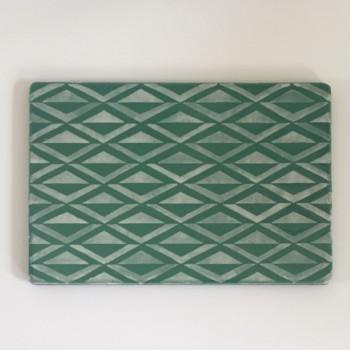 Lavastone: Grøn